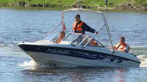 Права на лодку, катер, гидроцикл