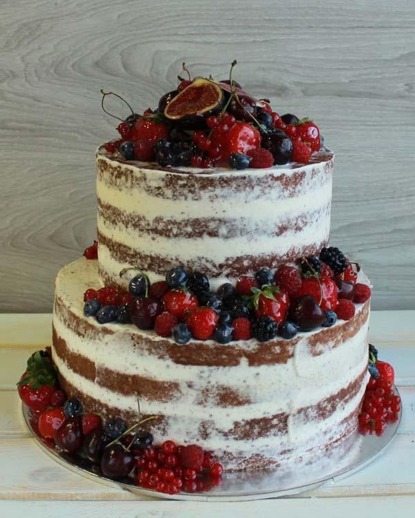 Ярусный торт